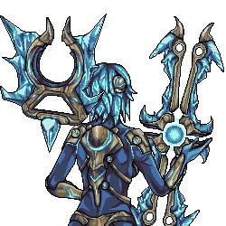 League of Legends: Frostblade Irelia [Back]