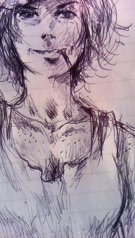 Gladys (Concept Sketch 2)