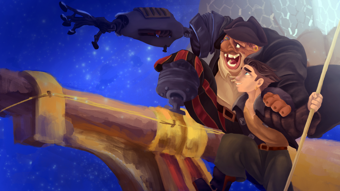 Treasure Planet PaintOver