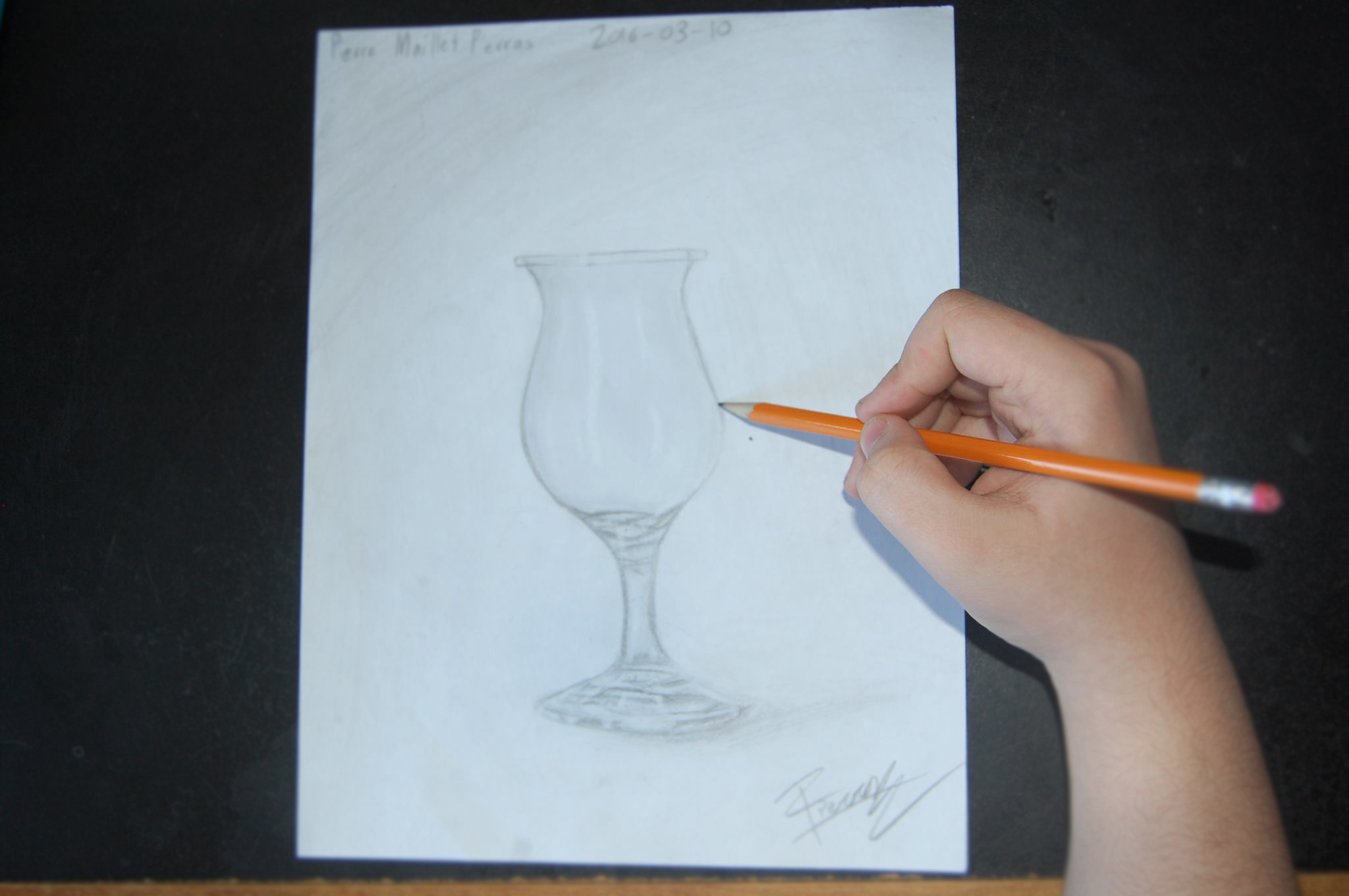 Realistic Drawing Challenge - Glass Bottle