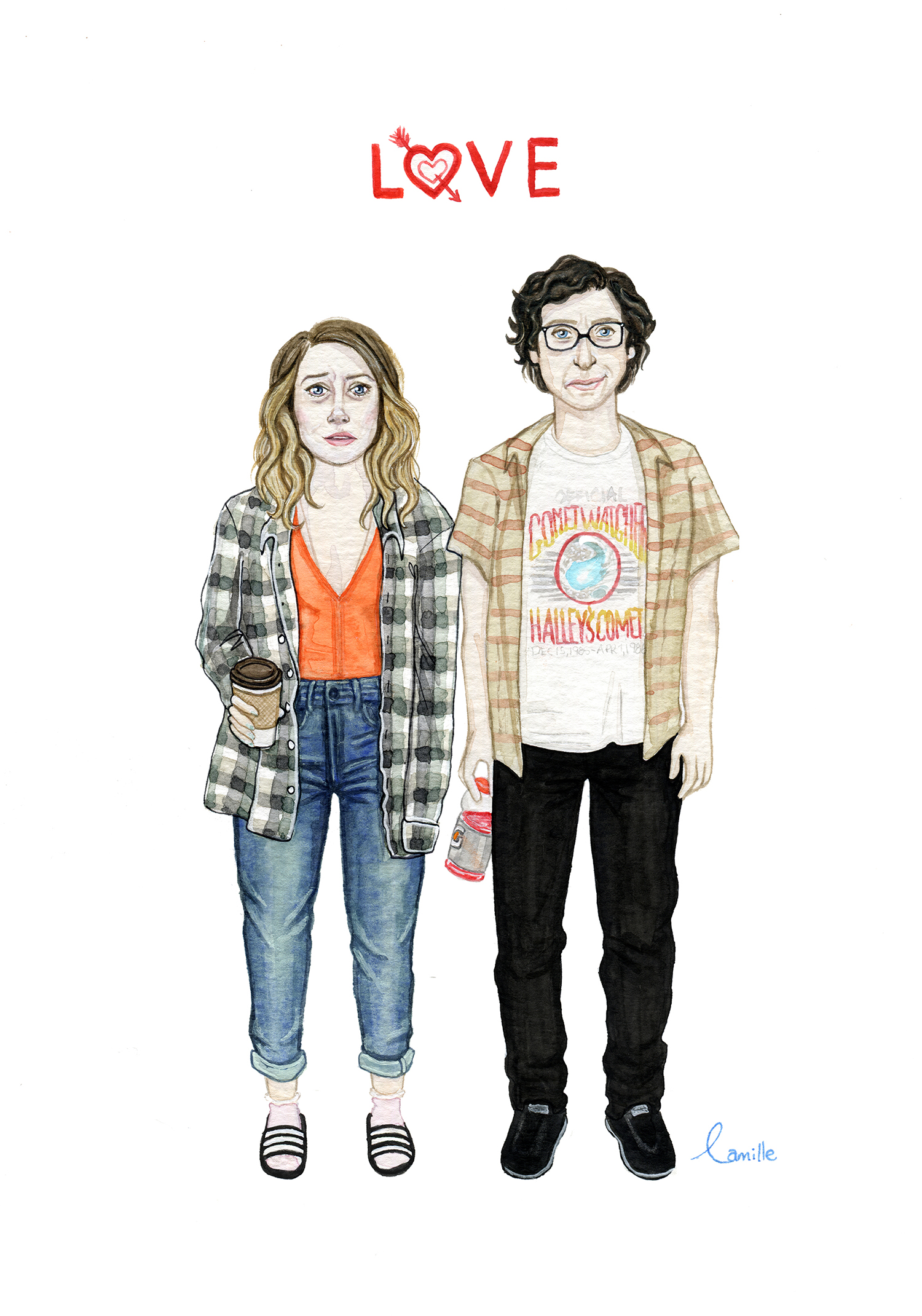 Netflix series ''LOVE'' Mickey and Gus