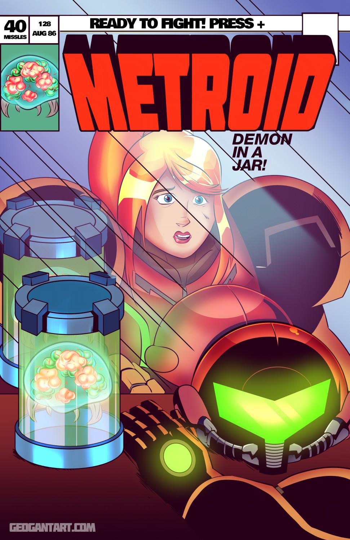 Metroid: Demon in a Jar