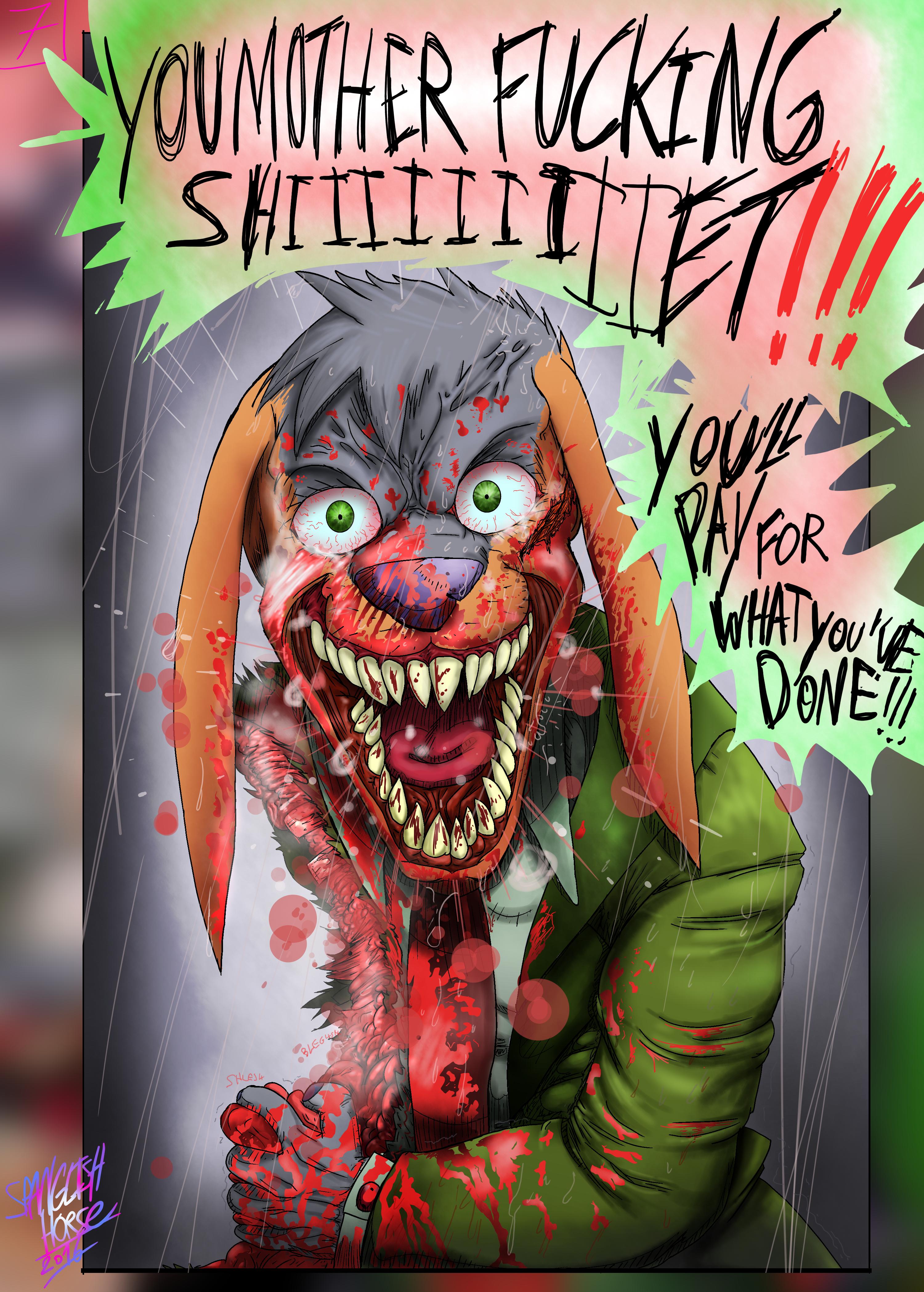 Bob the Psycho Rabbit Vs Alfred Alfer Page 7 (comic) (7/39)