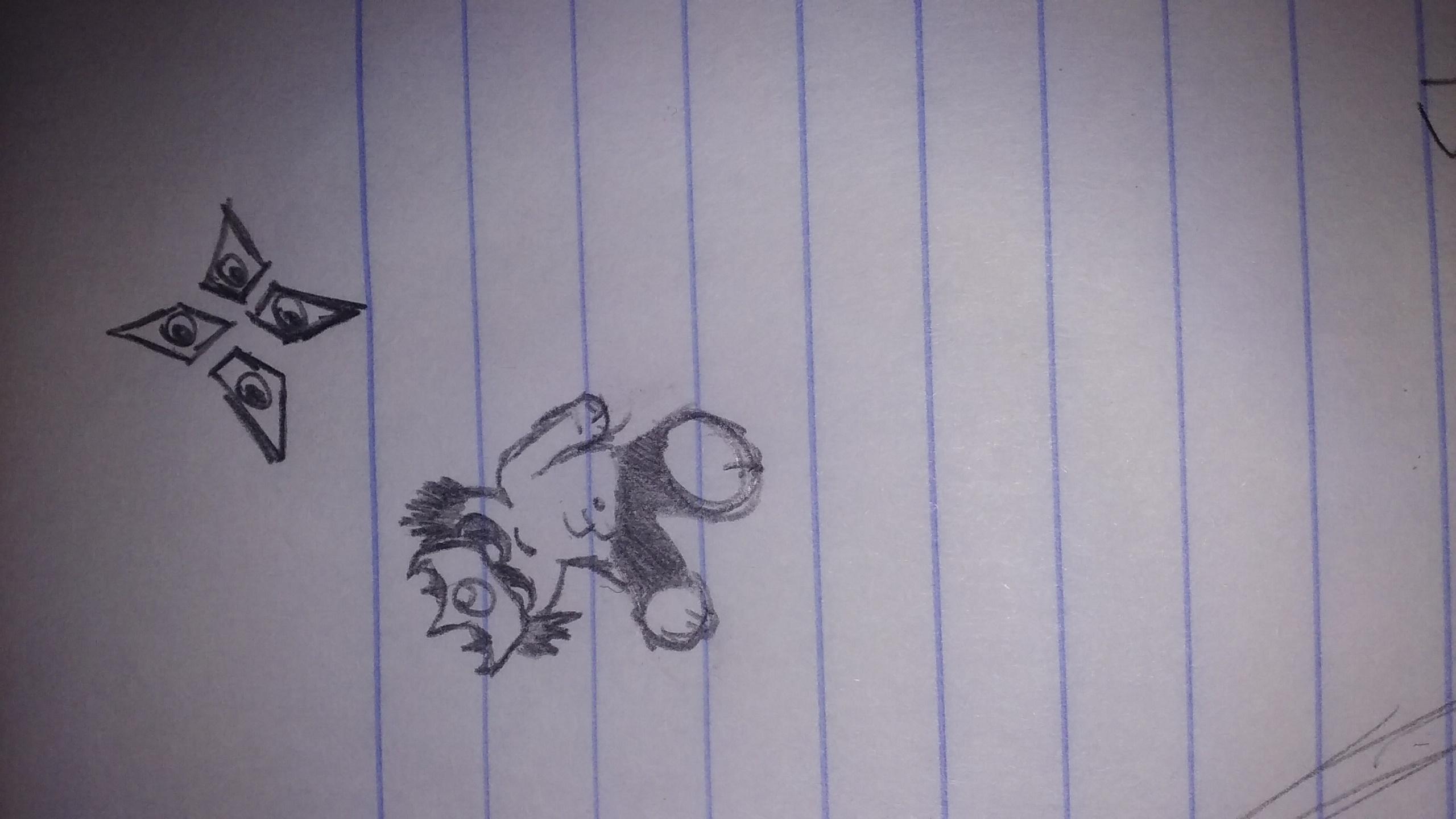 Danger Boy Doodle