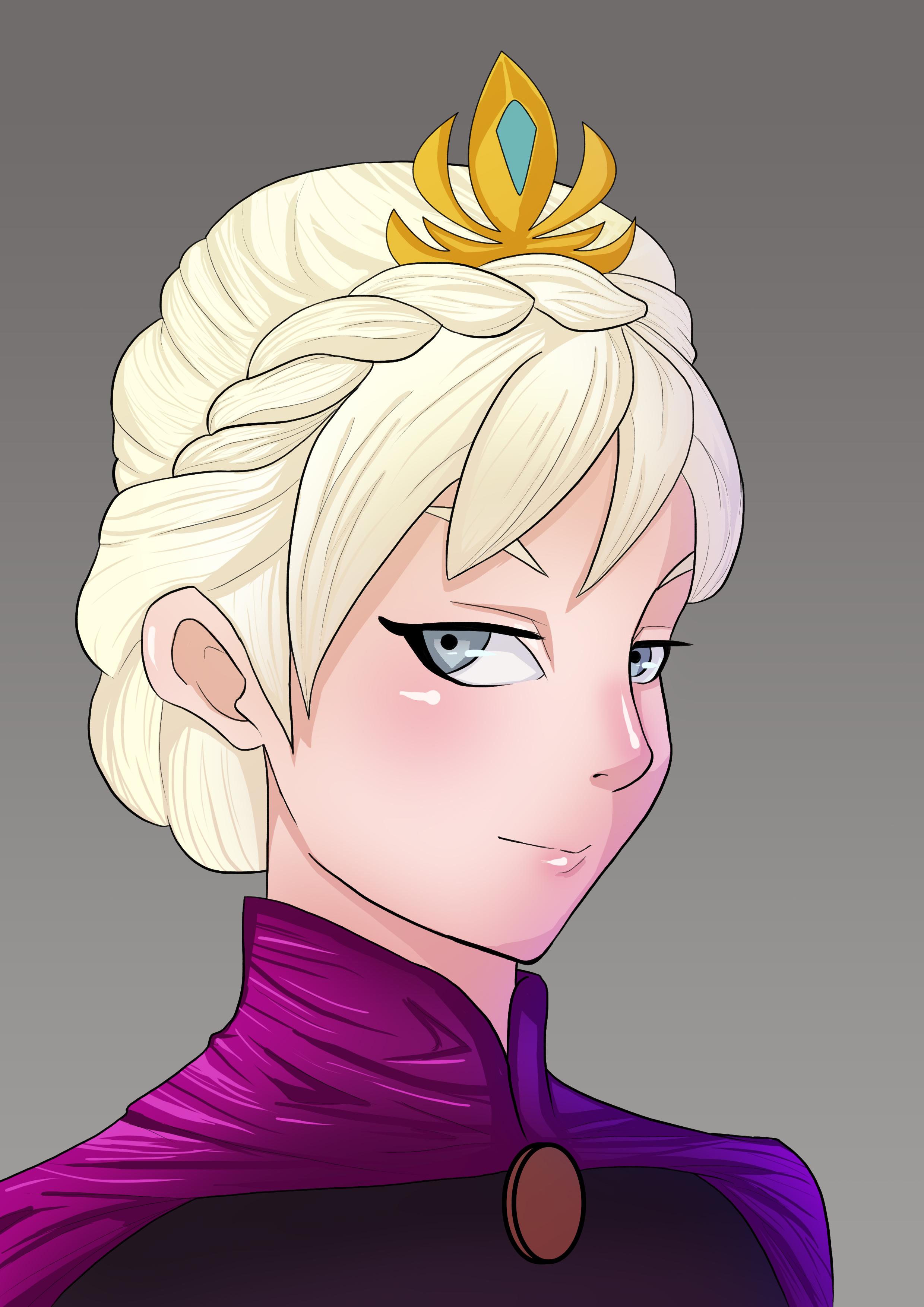 Queen Elsa Portrait