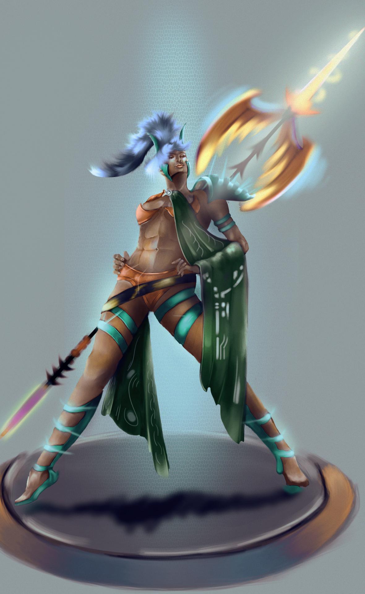warrior (female)