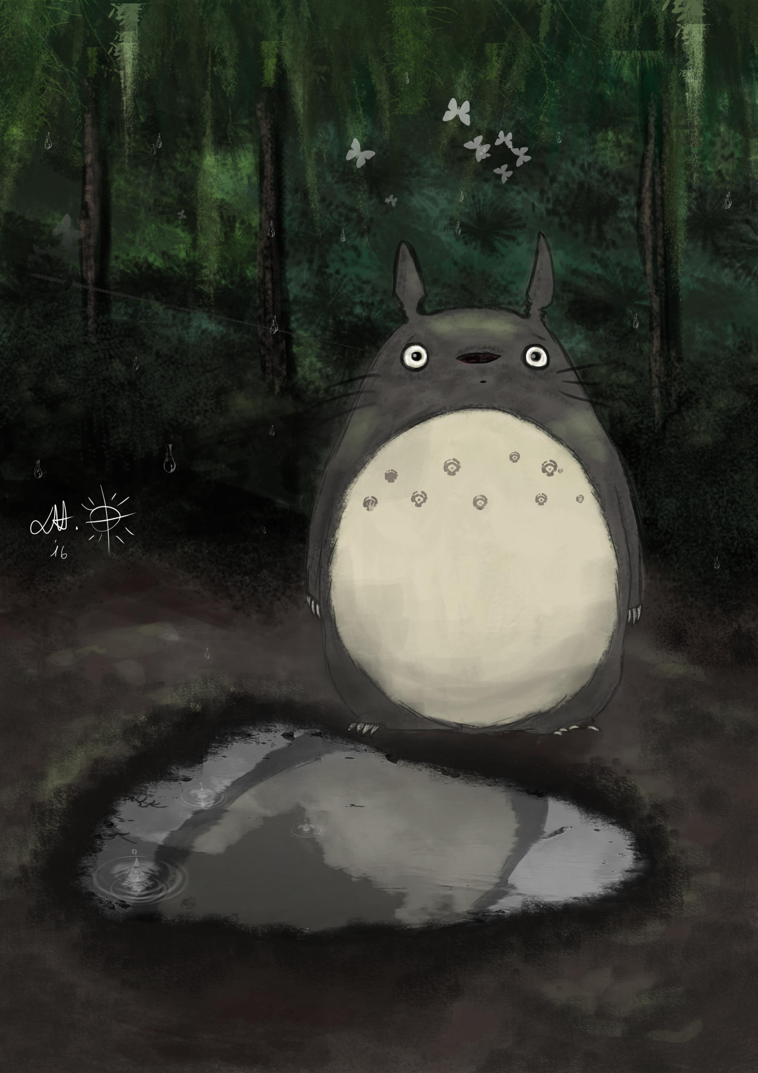 Totoro BrushStudy
