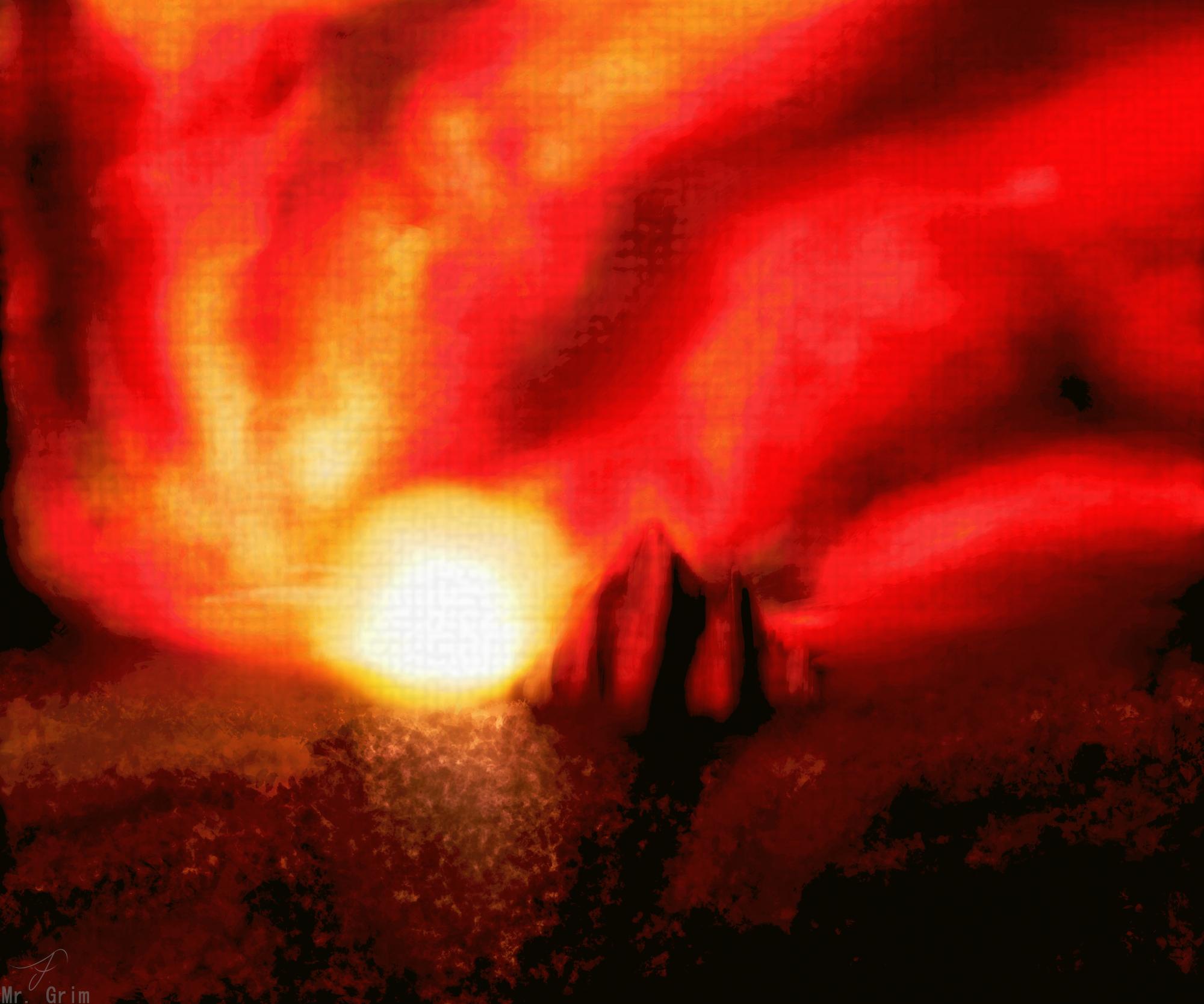 Desert's Sunset