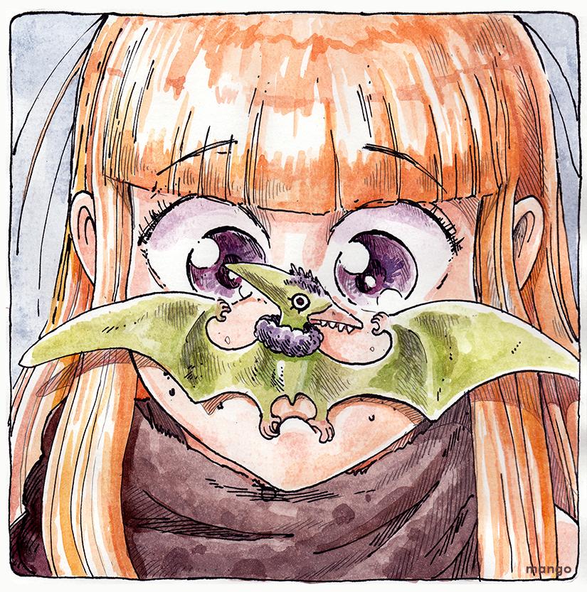 Princess and Pterodactyl