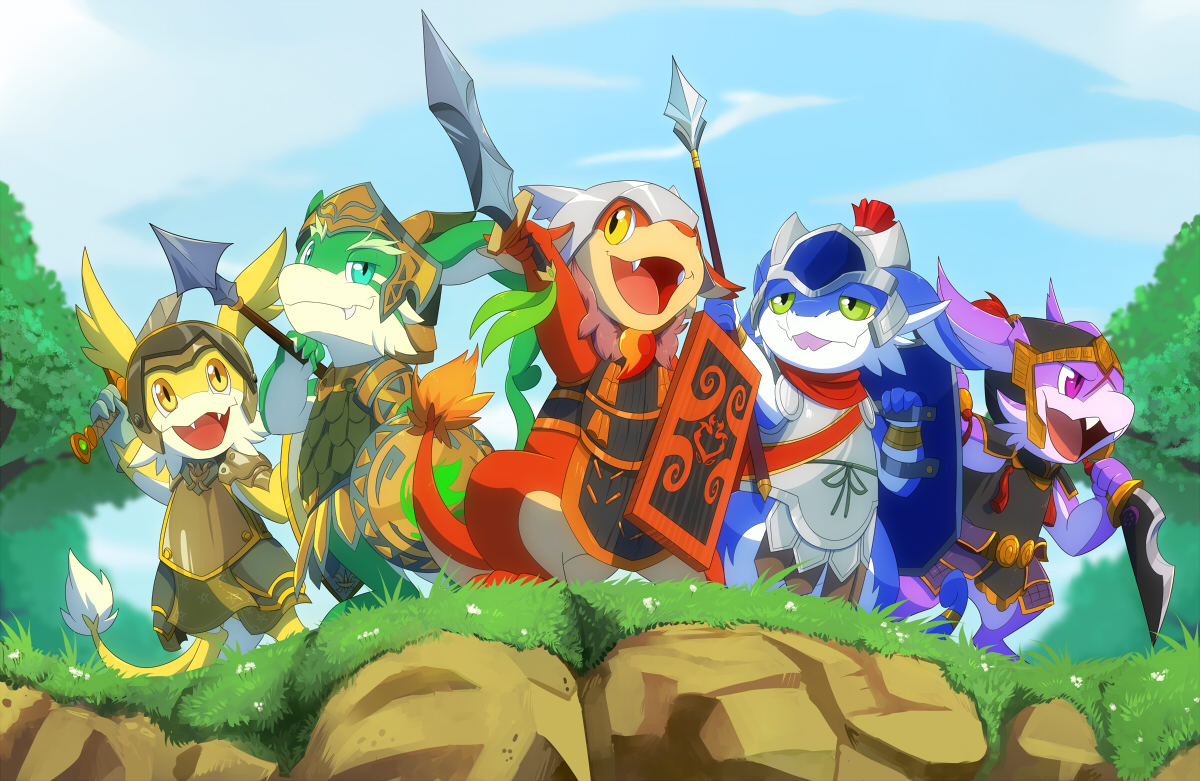 Dragon Knight Monsters