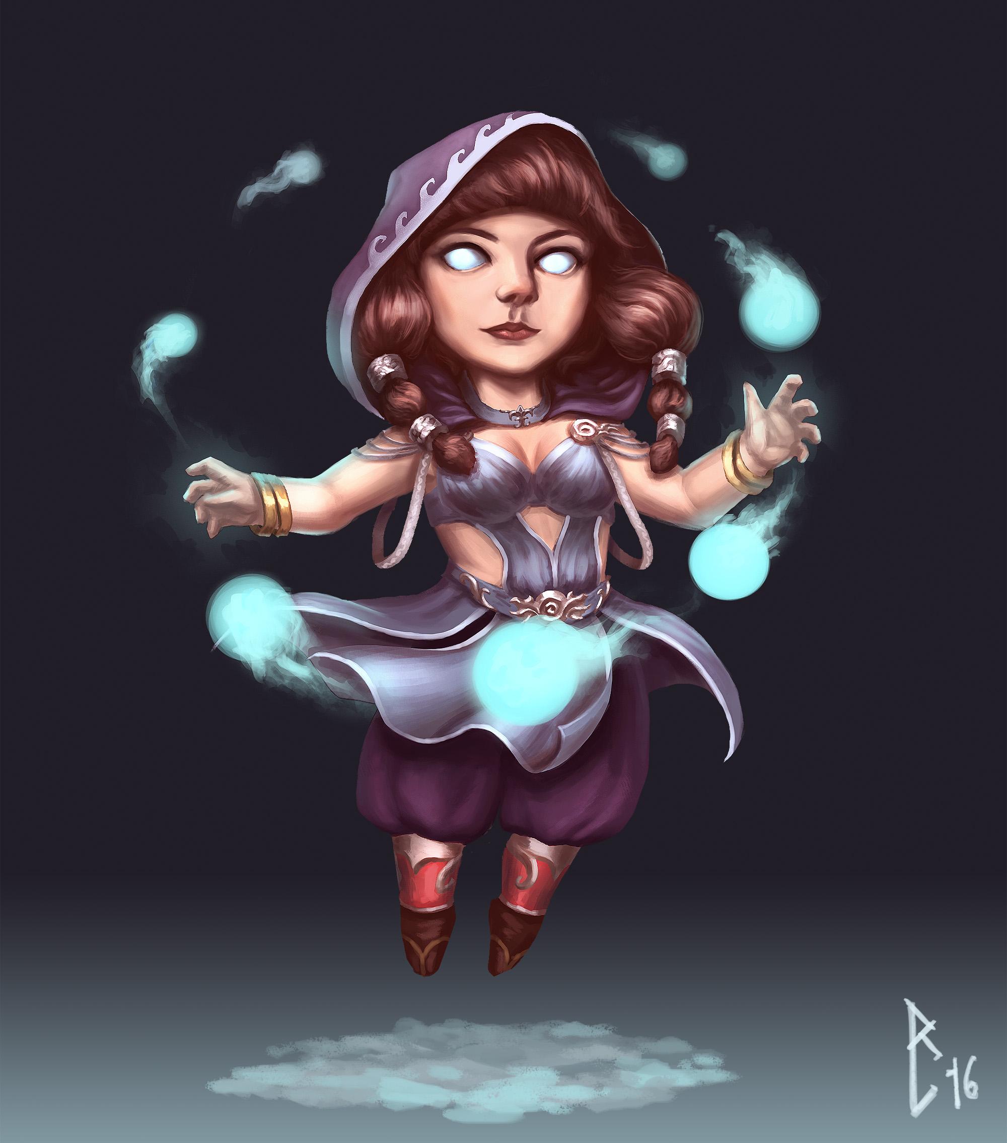Dwarf Sorceress