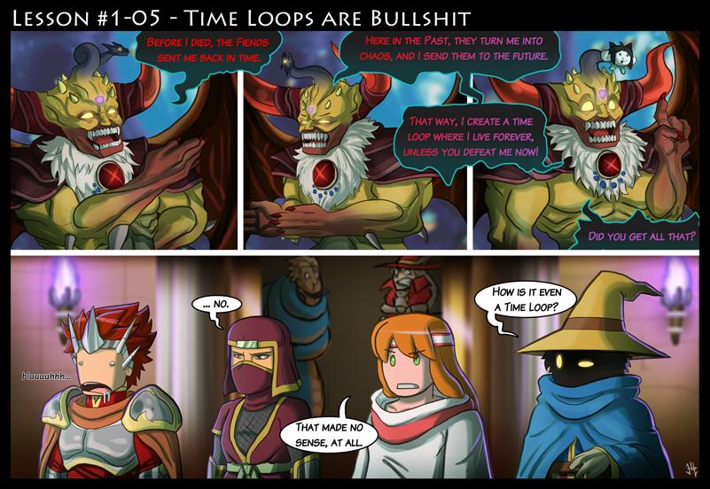 Final Fantasy Lesson #1.05