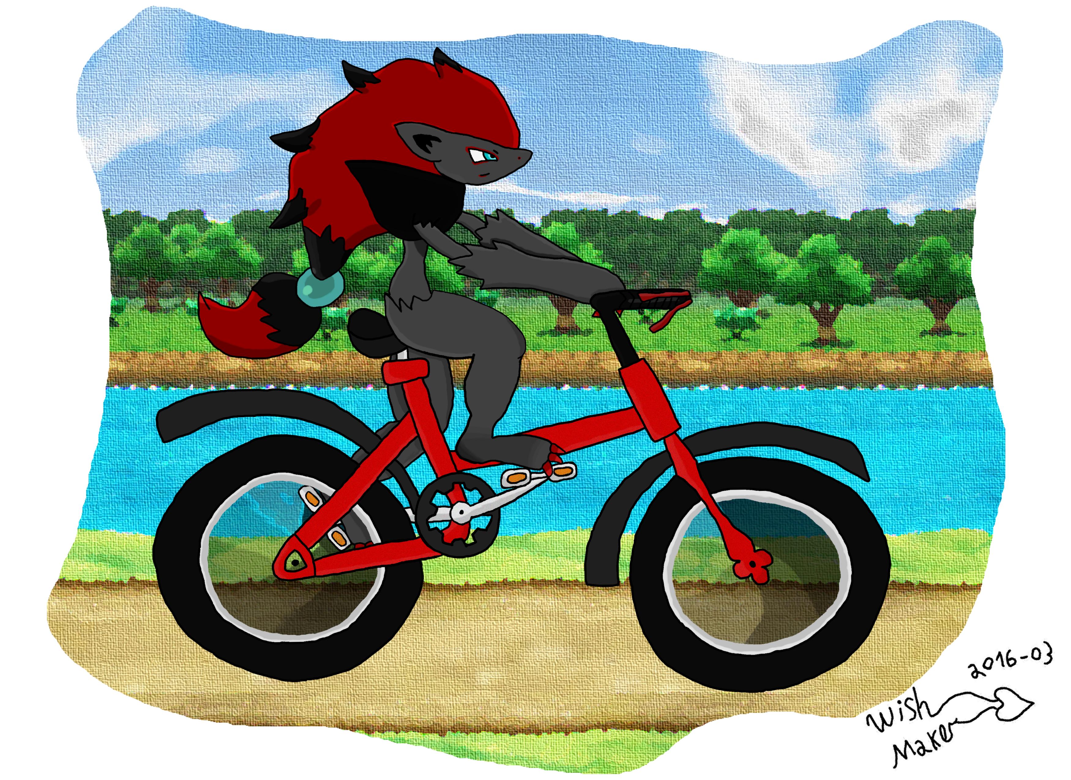 Zoroark Cycling