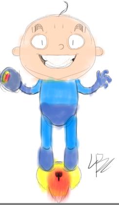 Bald Megaman