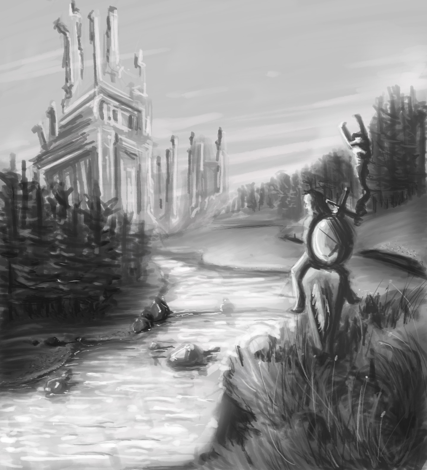 A Hero's Journey: Just across the river