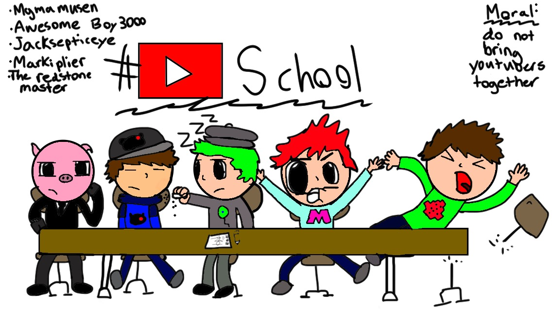 Awesome boy3000 and youtubers