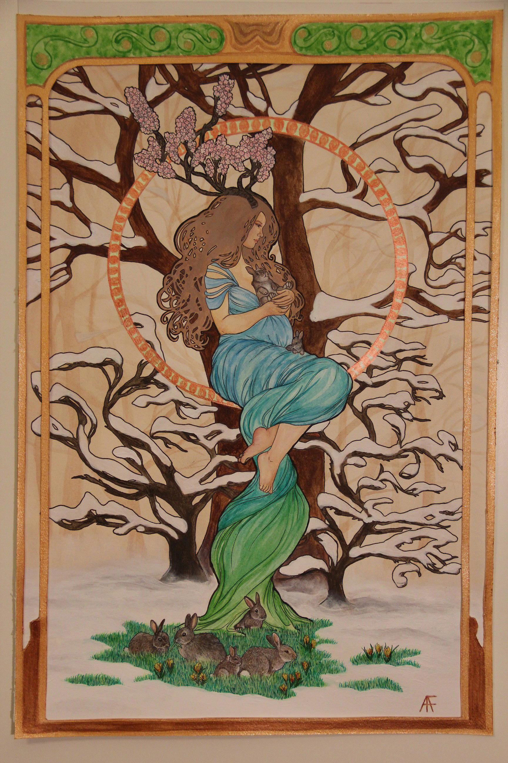The Goddess Ēostre