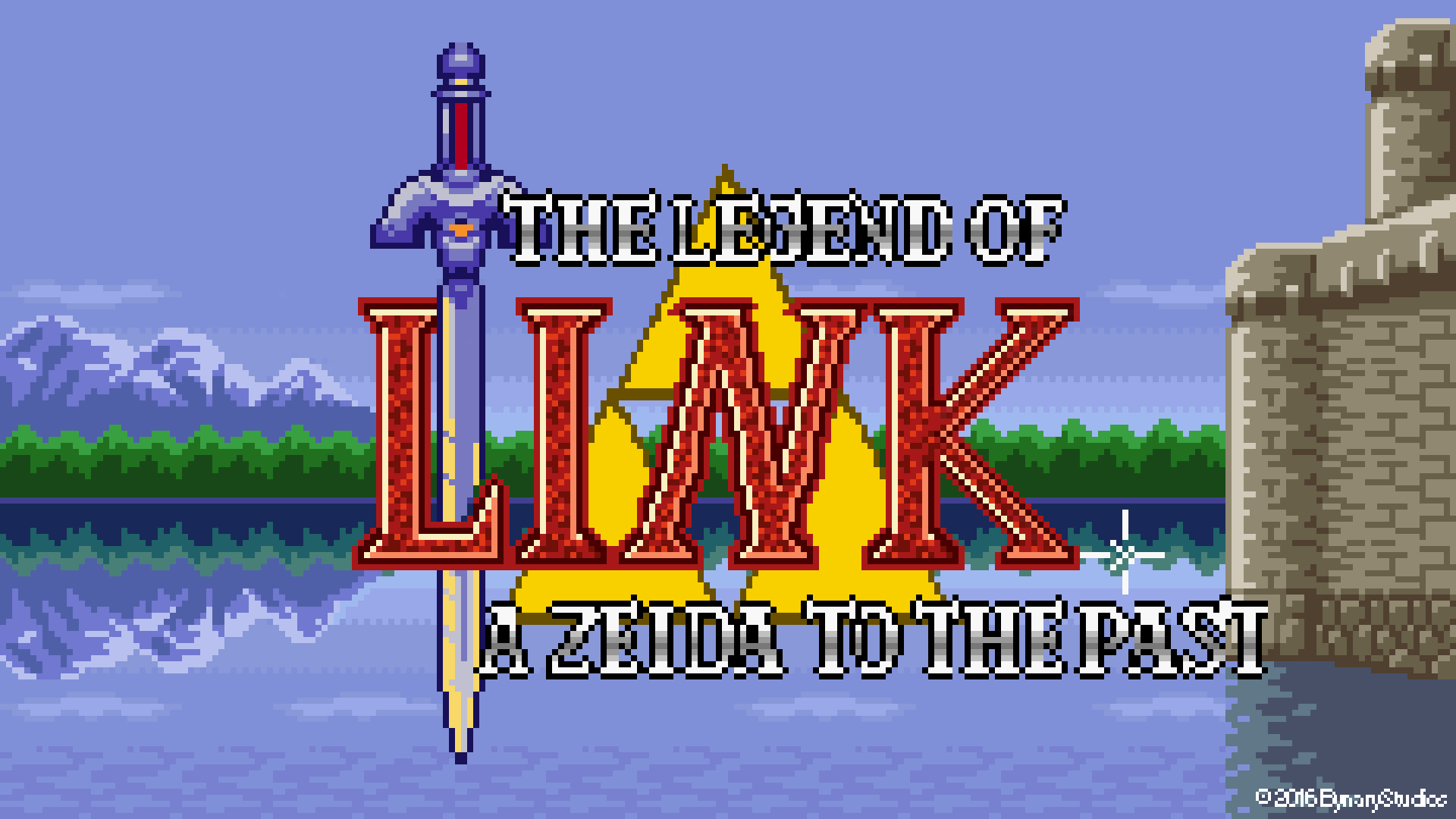 The Legend Of Link A Zelda To The Past