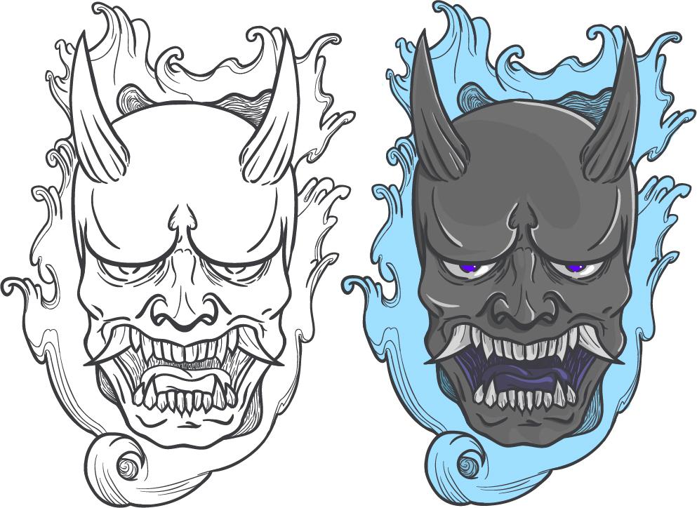 hannaya mask