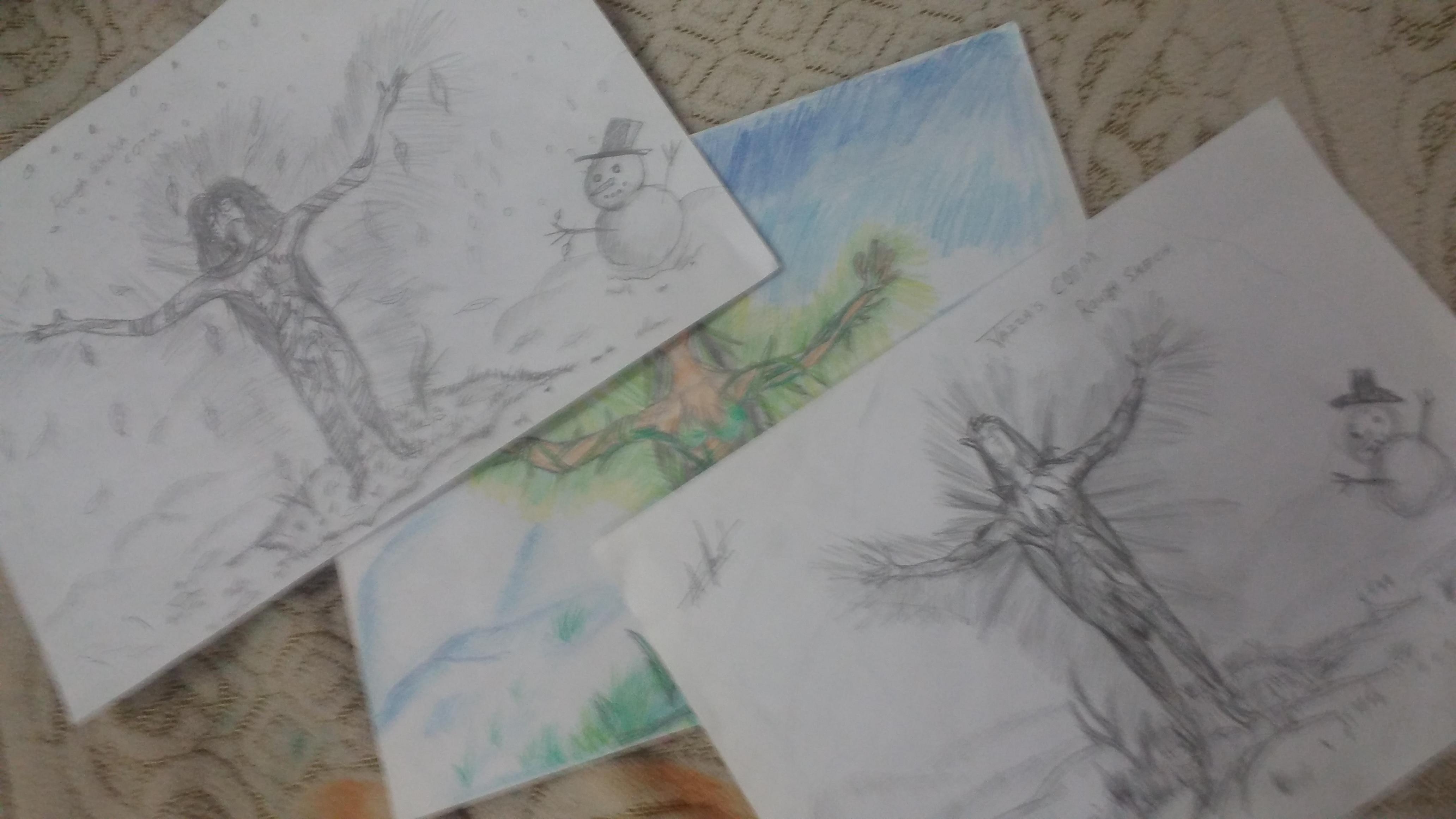 COTM rough sketches