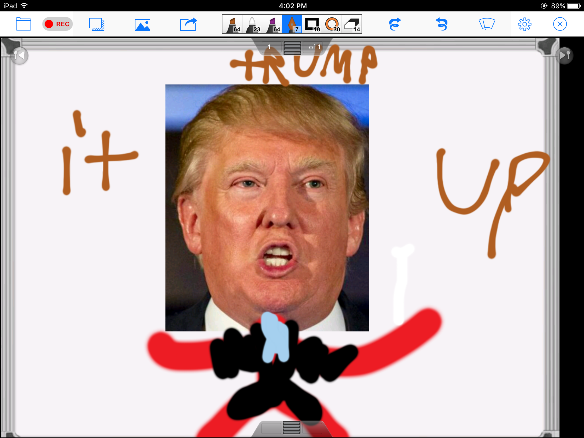 Trump it up Rated M for explicit Trump