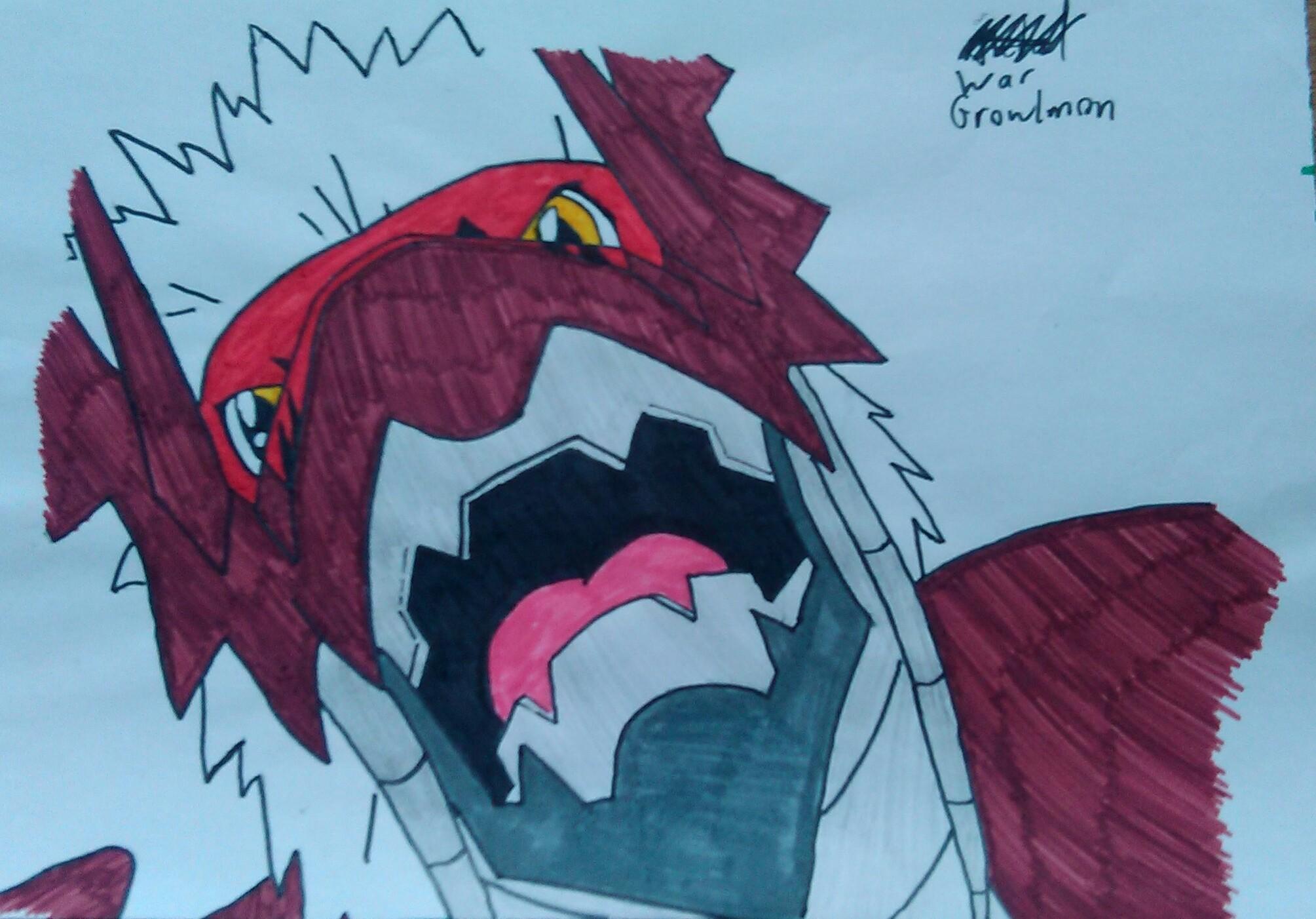 Digimon WarGrowlmon