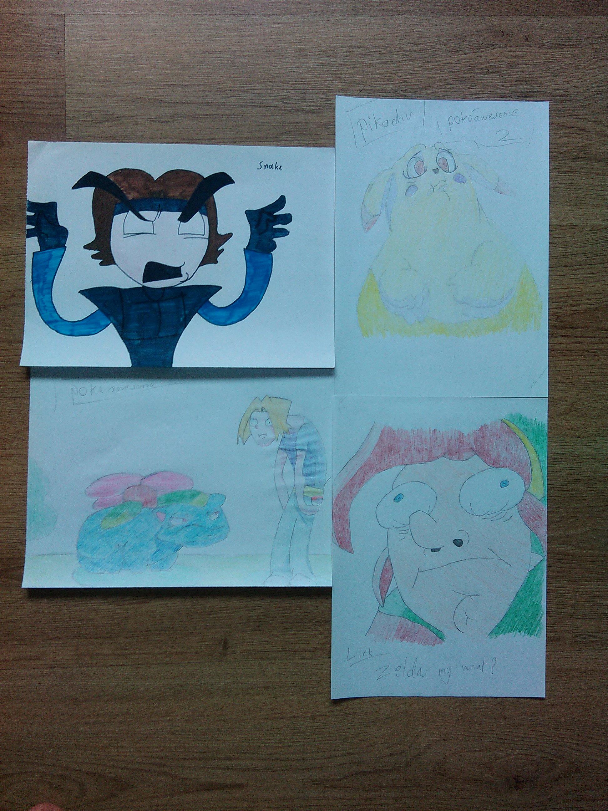 Bunch of Egoraptor drawings