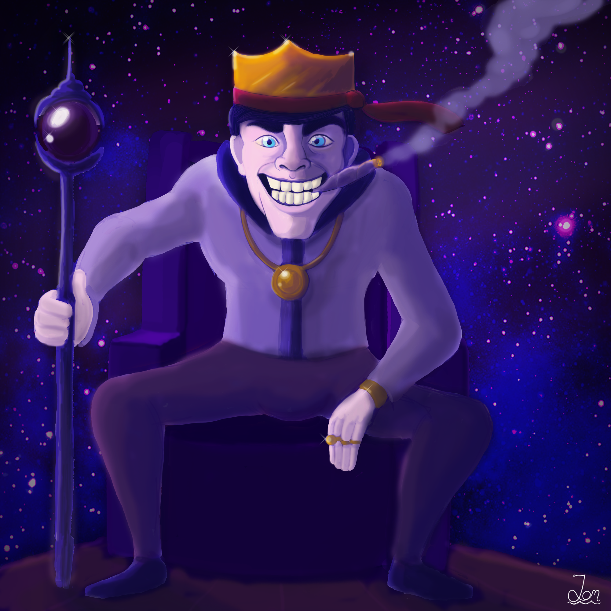 Galactic King (Commission)