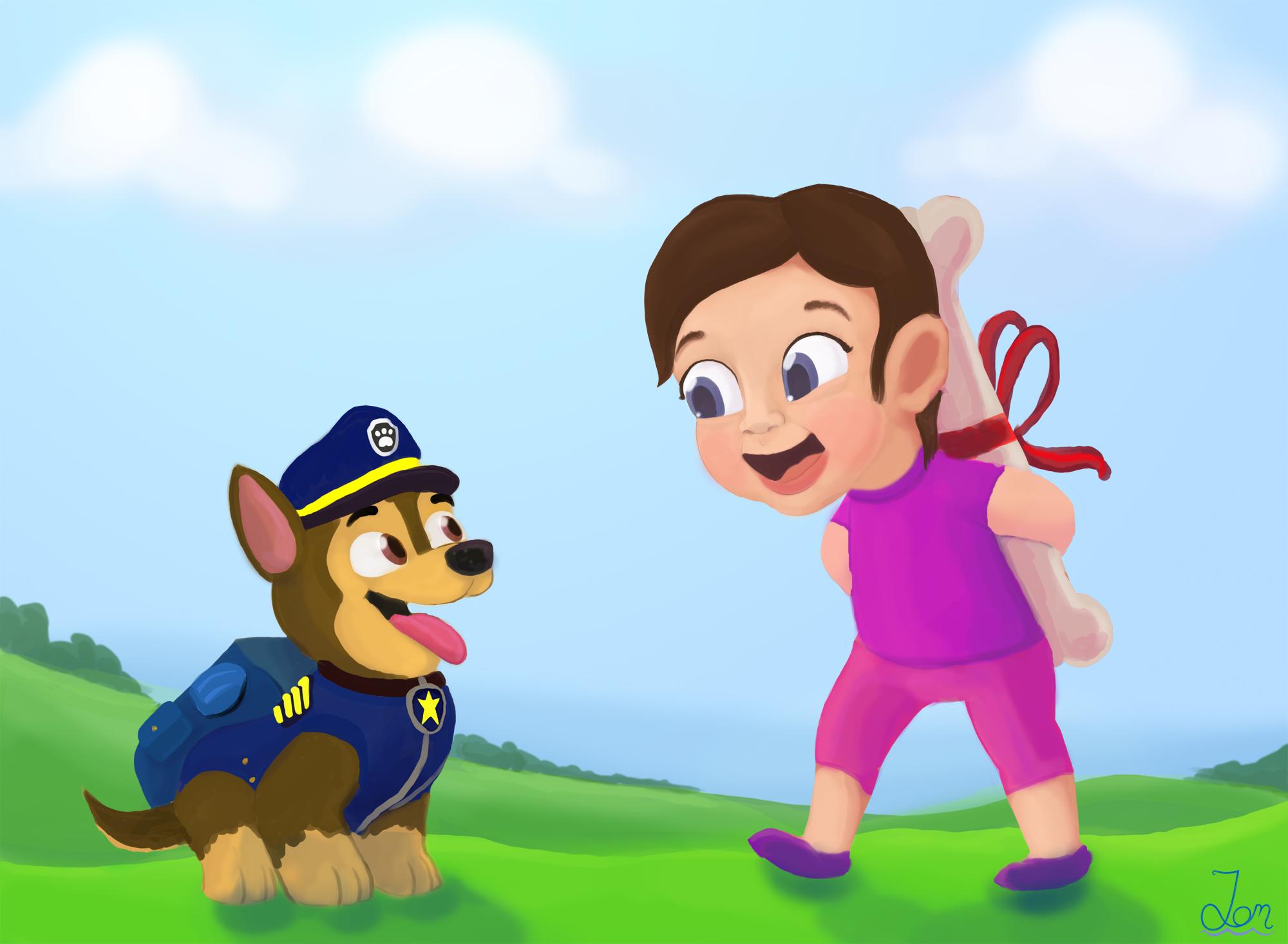 Paw Patrol (Commission)