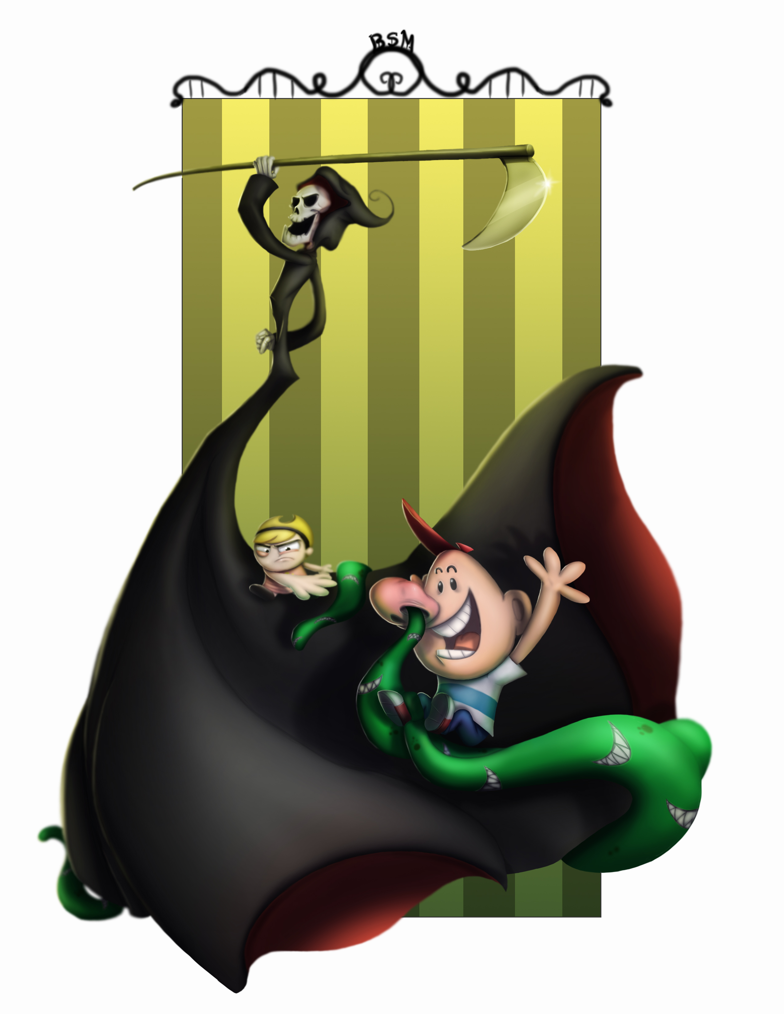The Grim Adventures of Billy and Mandy Fan Art