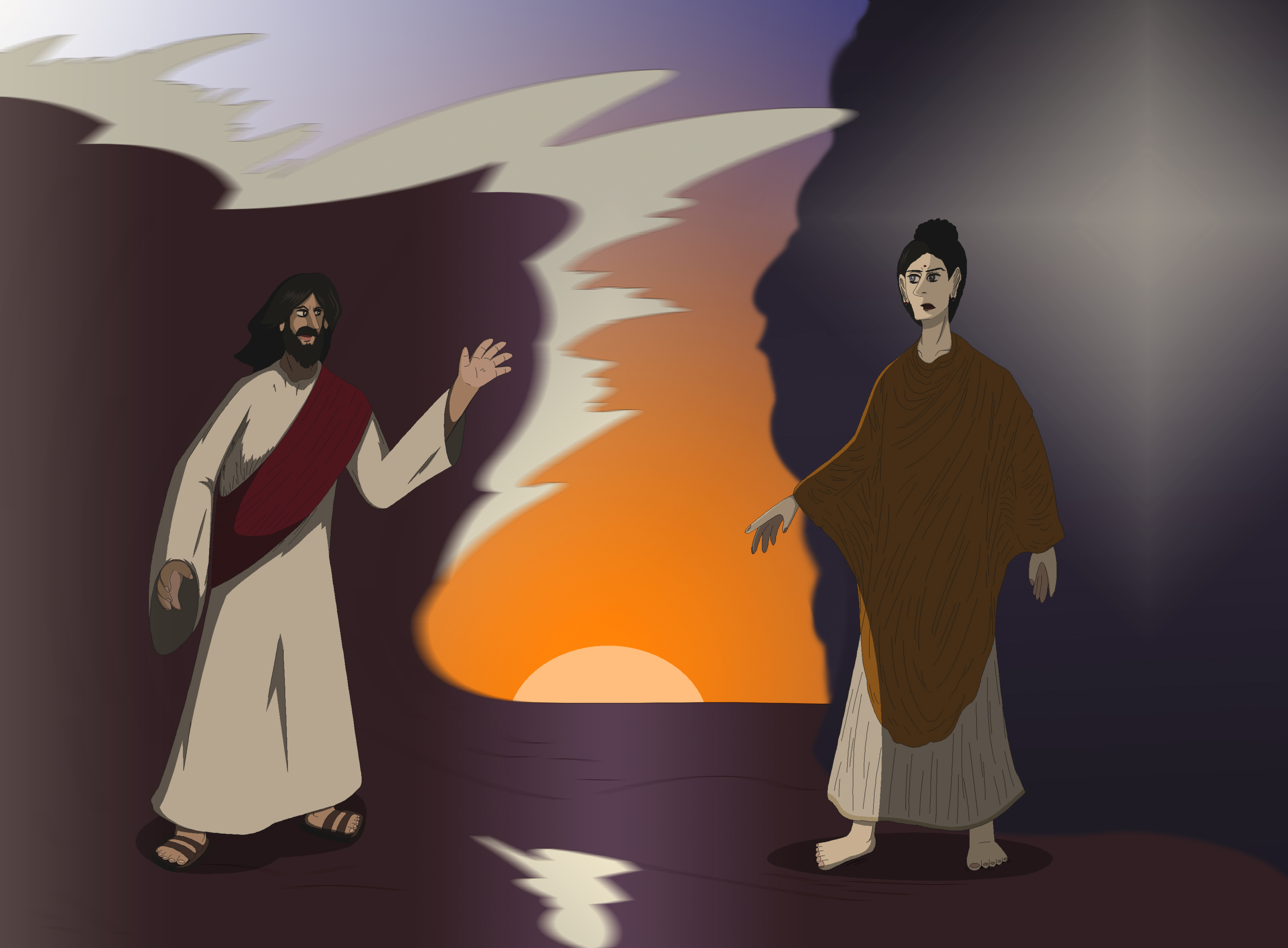 Jesus vs. Buddha