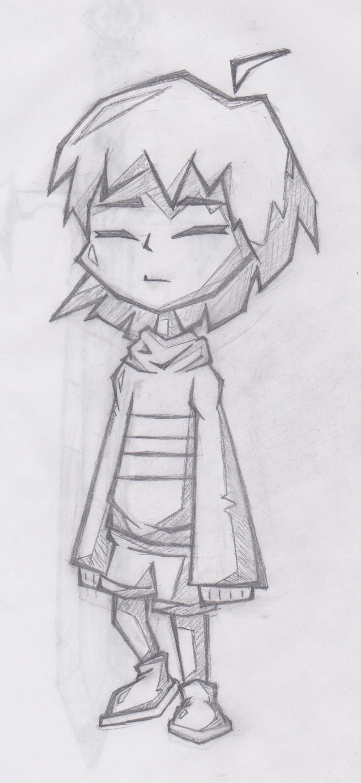 Frisk Fan Art Sketch