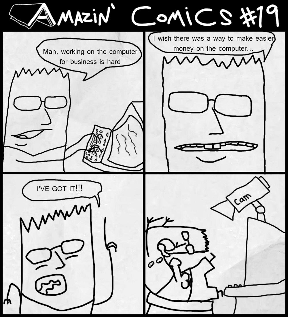 Amazin' Comics #19