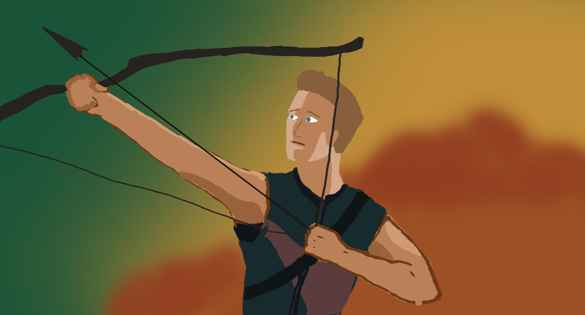 Hawkeye Fan art