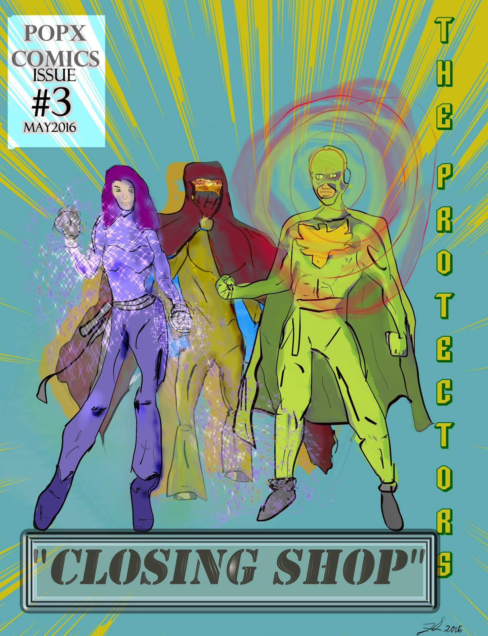 The Protectors Cover