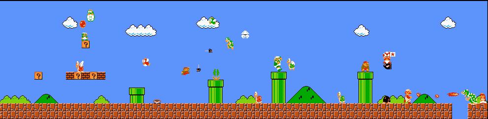 Mario Gathering