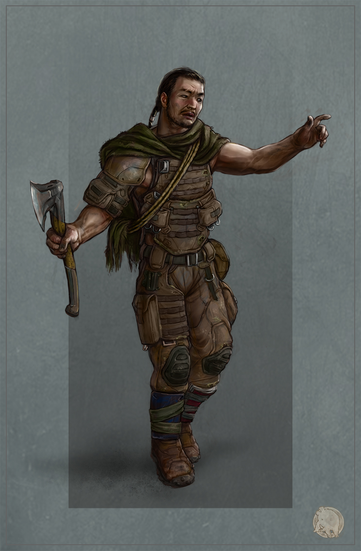 post apocalyptic soldier