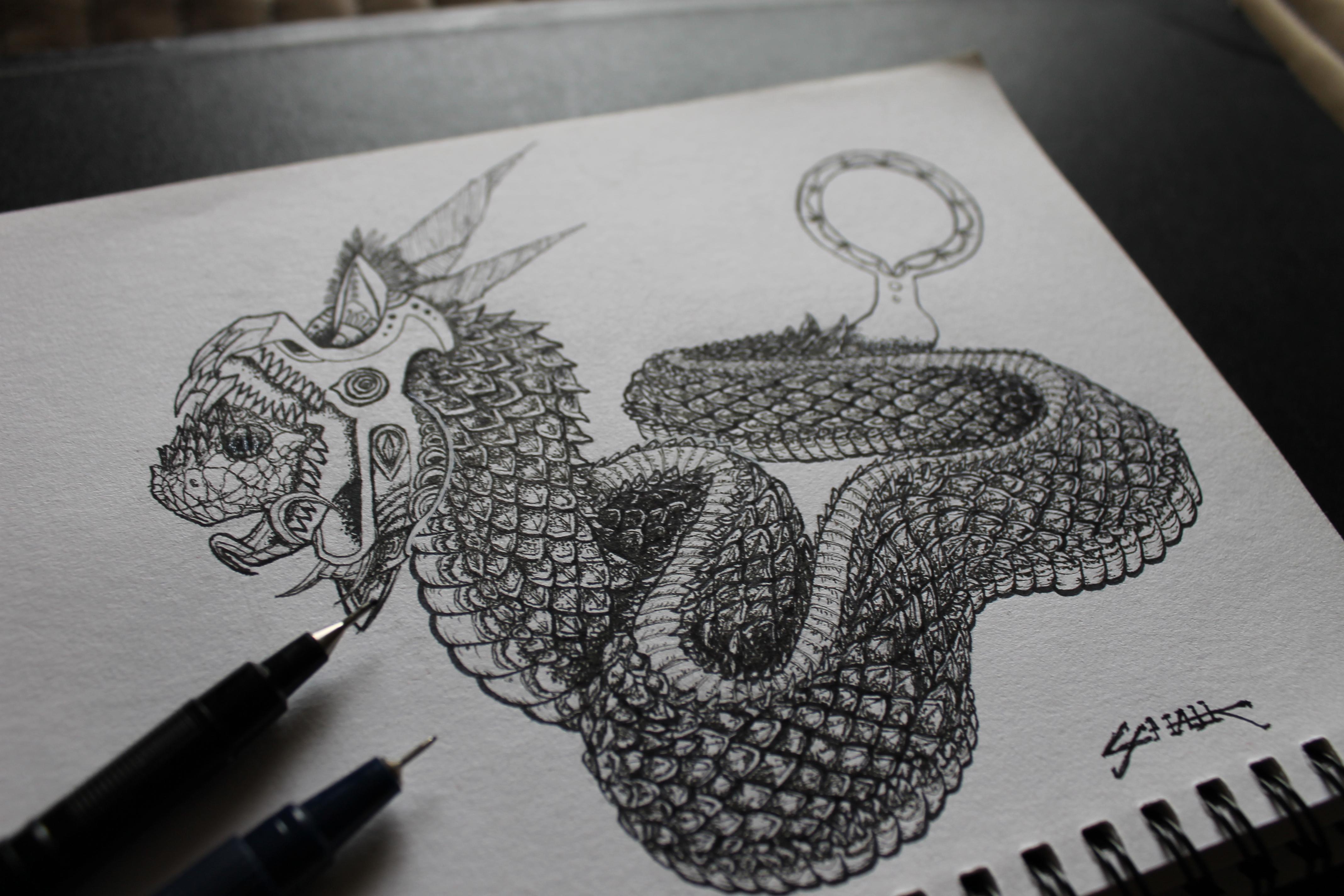 Pollution Snake