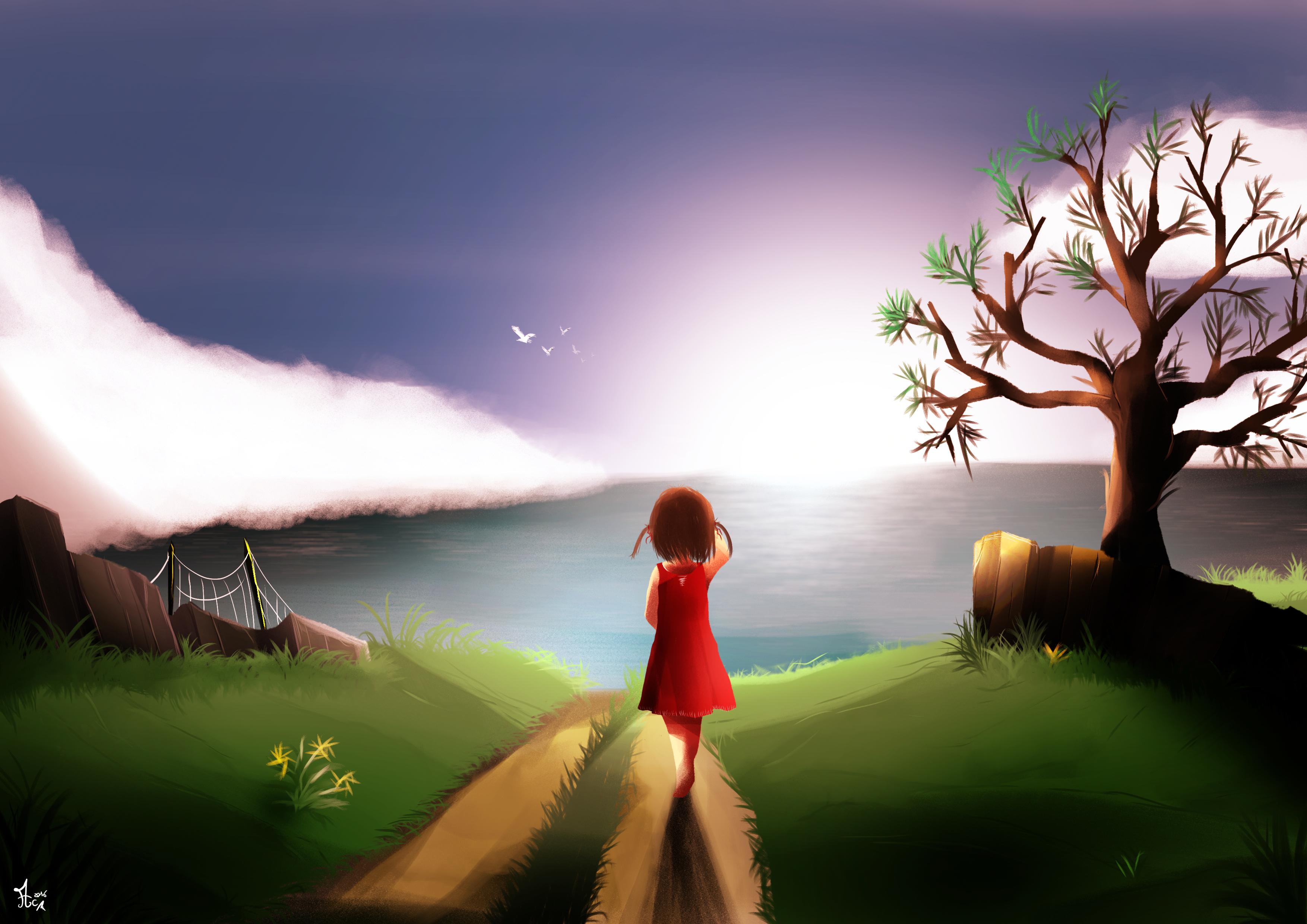 À l'horizon