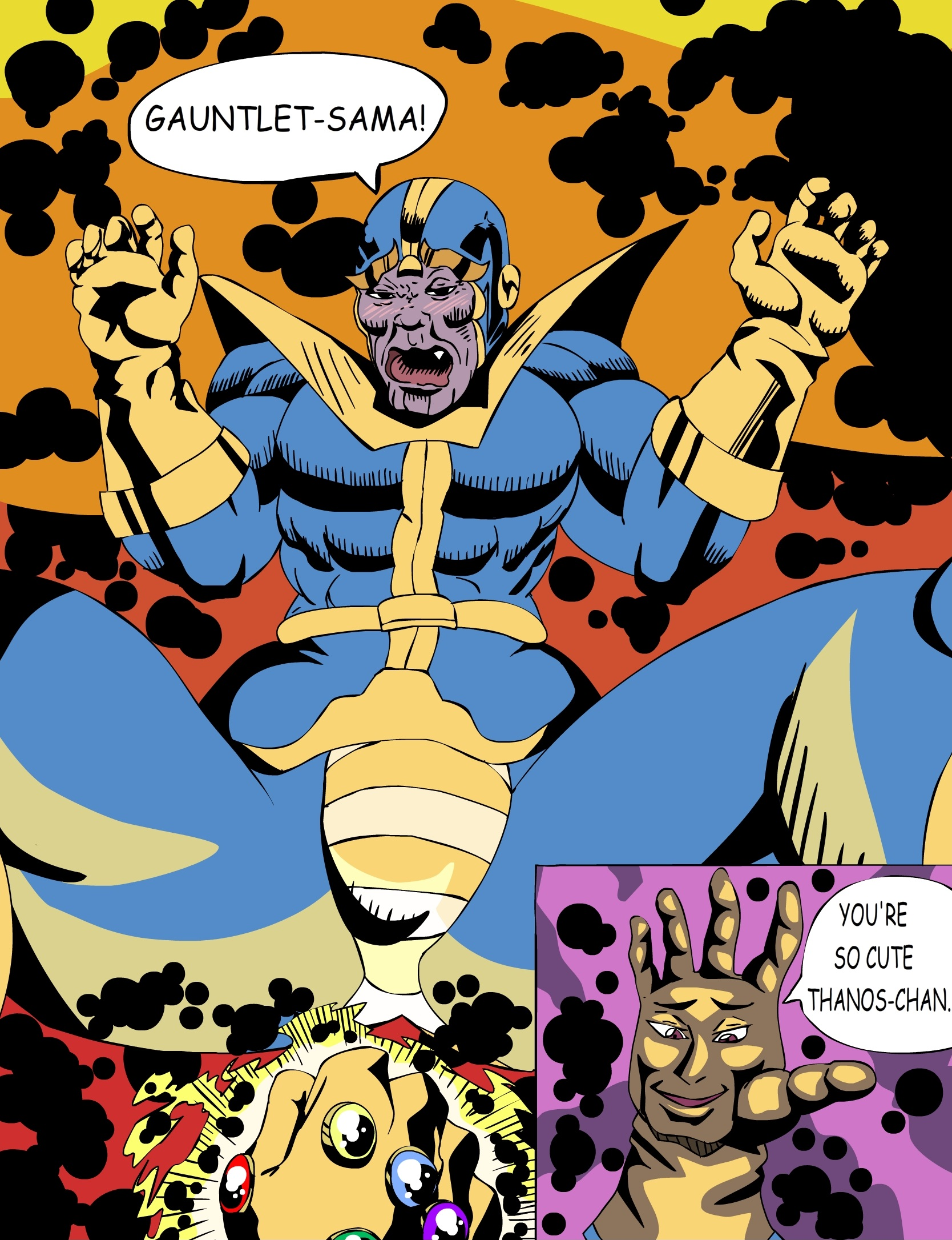 Thanos king of Marvel