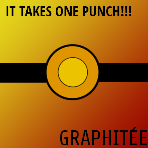 It Takes One Punch!!! Album Art