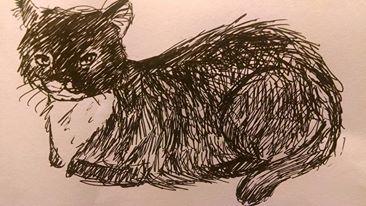 Pen Doodle of Alice