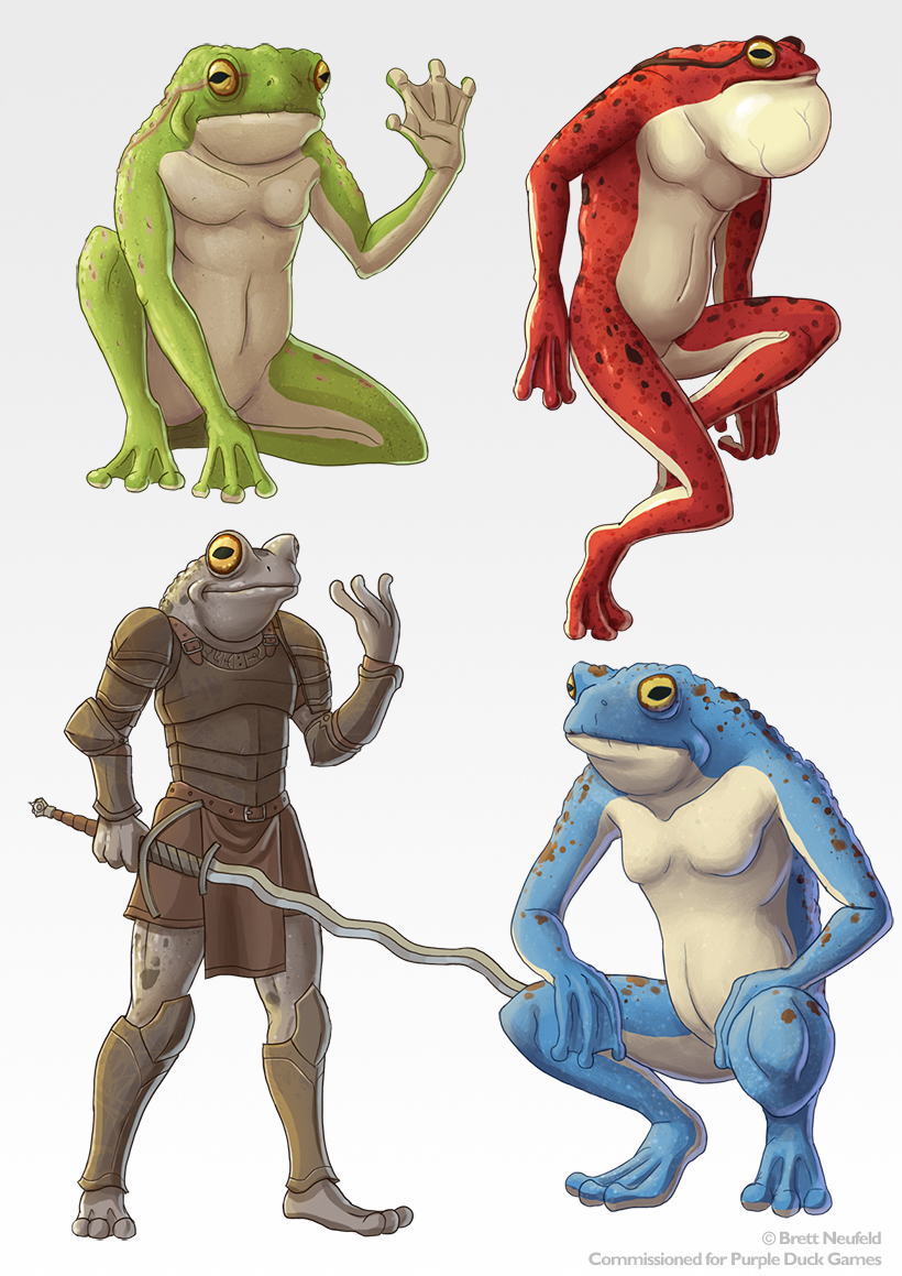 Astral Frogs