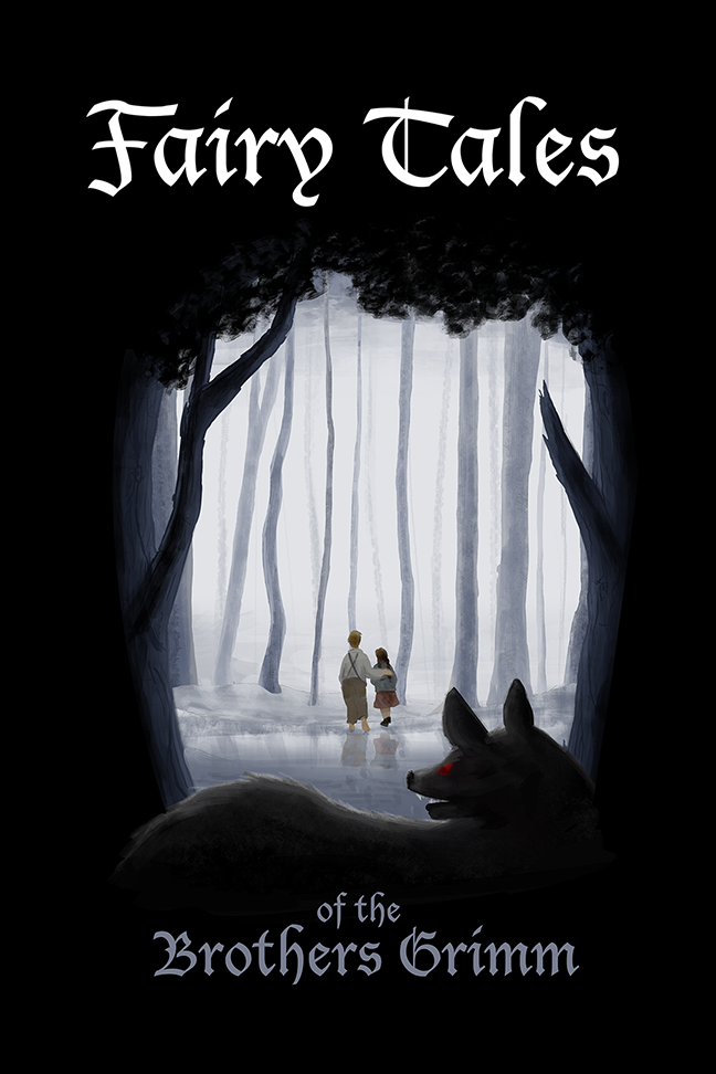 Fairy Tales of the Brother Grimms (Book Cover)