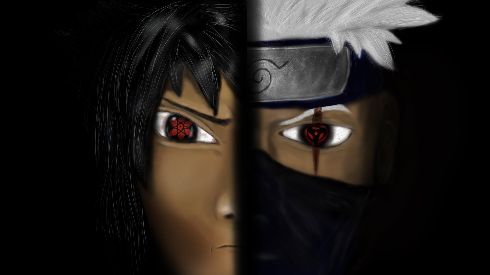 Sasuke vs. Kakashi