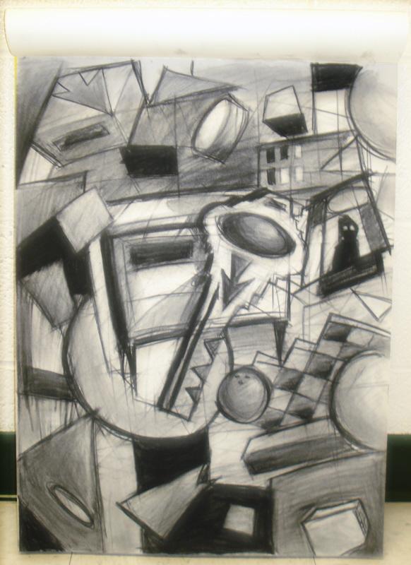 Abstract Eyesore