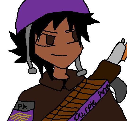 Purple Army OC- Etrius