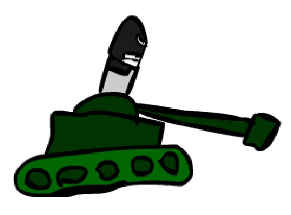 Tankman in tank