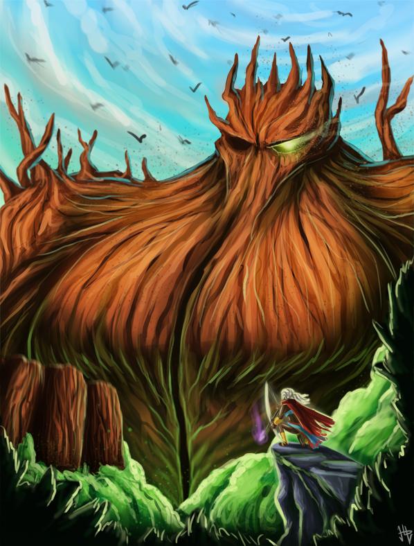 Redwood Elemental (IF - Wood)