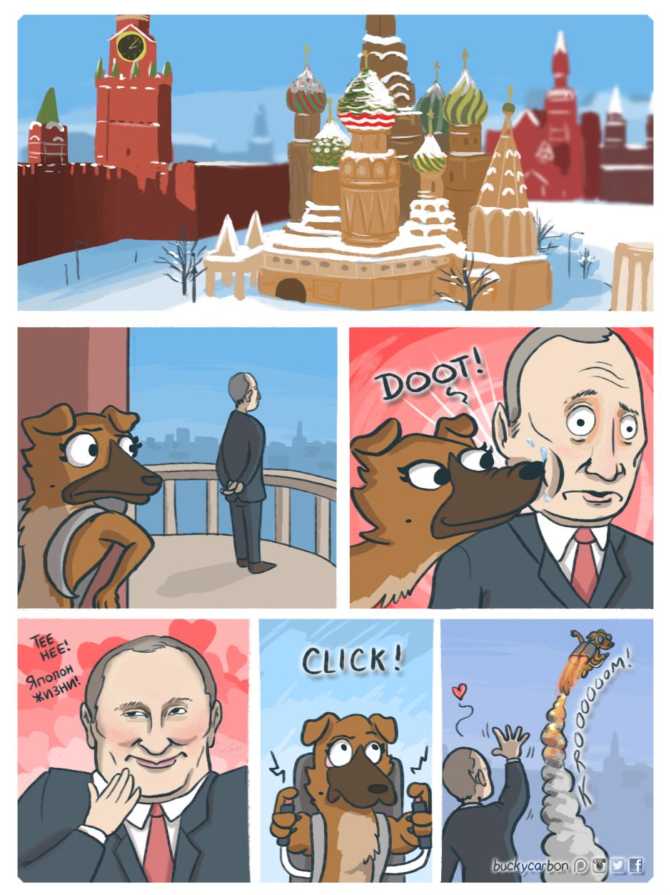 Snootin' Putin